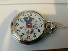 ~ Quartz ~ China Movement Vintage Disney Goofy Colibri Pocket Watch