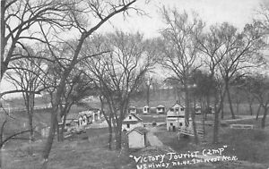 H56/ Bethel Kansas Postcard c1940s Victory A.A.A. Camp Kansas City