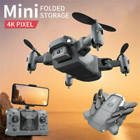 KY905 Mini 4K Camera HD Foldable Drone One Key Return Wifi FPV RC Quadrocopter