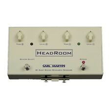Carl Martin HeadRoom Spring Reverb Guitar Effects Pedal Head Room Footswitch