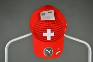 SWITZERLAND SWISS SUISSE RARE FOOTBALL SOCCER FAN CAP HAT PUMA ORIGINAL ONE SIZE