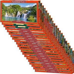 Castorland 4000 Piece Jigsaw Puzzle Landscapes Cities