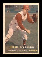 1957 Topps Set Break # 32 Hersh Freeman VG-EX *OBGcards*