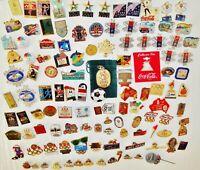 LOT OF 117 Olympic Pin backs:U.S. Seoul Canada Japan Canada Atlanta France +More