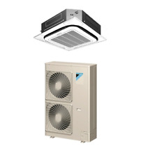 42,000 Btu 16 Seer Daikin Single Zone Ductless Cassette Air Conditioning System