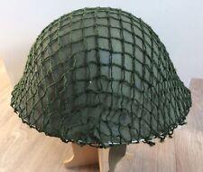 British Army Post WW2 Helmet Net To Fit Mk3 Mk4 And Brodie Helmets