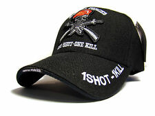"Brand New Rare Black ""Special Force 1Shot - 1Kill"" Cap"