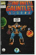 Marvel Comics The Infinity Gauntlet #4 of 6 Oct. '91 NM/MT Starlin and Perez