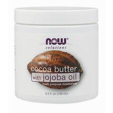 Beurre de Cacao avec Huile Jojoba 190ml Intense Hydratant Corps Crème Cheveux