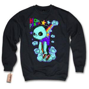 Pullover - HIGH PANDA - Swag Weed Funshirt Sweater Sweatshirt S M L XL XXL
