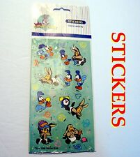 HTF Rare Small Baby Looney Tunes Stickers 1998 Warner Bros Road runner, Coyote