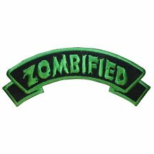 Kreepsville 666 Zombified Horror Halloween Punk Embroidered Iron-on Patch PAGZF