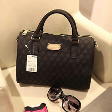 Fashion Women Leather Messenger Hobo Handbag Shoulder Bag Lady Black Tote Purse