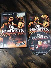 Ps2 Def Jam Vendetta-complete-EXCELLENT- Fast Ship Free Ship