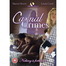 Carnal Crimes NEW PAL Erotic DVD Linda Carol