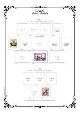 PAGES D'ALBUM NEUVES LEVANT 1867-->1943