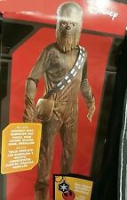 NEW Disney Star Wars Chewbacca Costume teen boys mens Small 34-36 Wookie