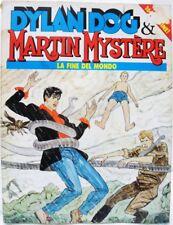 """DYLAN DOG & MARTIN MYSTÈRE """"La fine del mondo"""" ottobre '92 discreto/buono"""