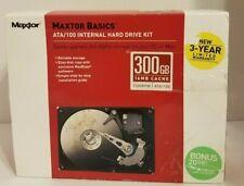 Maxtor Basics ATA /100 Internal Hard Drive Kit 300 GB 16 MB 7200 Rpm ATA/100 NEW