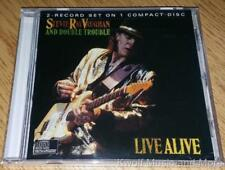 "STEVIE RAY VAUGHAN AND DOUBLE TROUBLE ""Live Alive"" Epic/EGK 40511 NEW  (CD)"