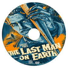 The Last Man on Earth -  Vincent Price - Vampire, Horror, Sci-Fi - DVD - 1964