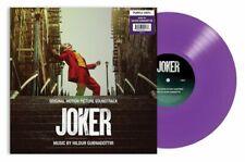 The Joker Original Motion Picture Soundtrack Limited Edition Purple Vinyl