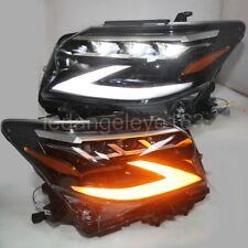 Full LED headlights for LEXUS GX400 GX460 LED headlights 2014-2019 year black