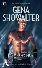 The Vampire's Bride (Atlantis (Harlequin)),Gena Showalter