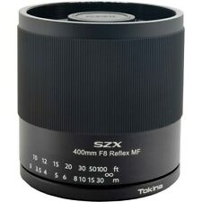 Tokina SZX 400mm f/8 Reflex MF Lens for Canon EF
