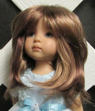 "Doll Wig, Monique Gold ""Beth"" Size 5/6 in Frosted Brown"