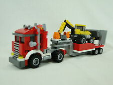 Lego Creator 31006 Sattelschlepper mit Bagger 3-in-1 komplett