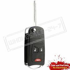 Replacement For 2006 2007 2008 2009 2010 Jeep Wrangler Key Flip Shell