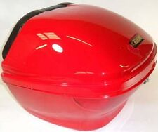 Red Hard Case, Luggage Box, Top Box for Scooter / Motorcycle, 815104