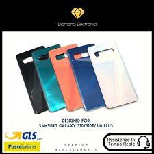 🔝 Vetro Posteriore Scocca Back Battery Cover Samsung Galaxy S10 S10e S10+ plus
