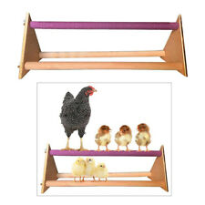 Handmade Wooden Perch Large Stand Keep Balance for Large Birds Chicken