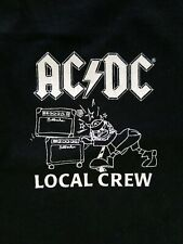 Vintage AC/DC Local Crew 1998 Tour T-Shirt Authentic New XL