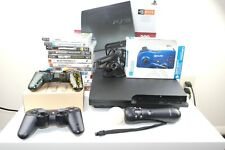 Sony PlayStation 3 PS3 320GB Slim Console - BUNDLE (13 Games)