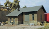 DESIGN PRESERVATION 10700 HO Scale Freight Depot Building Train Kit FREE SHIP