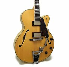 D'Angelico EX-175 Excel Series Hollowbody Electric Guitar w/ Case - Natural Tint