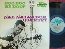Sal Salvador UK Reissue LP Boo boo be doop NM Affinity AFF68 Bop Cool