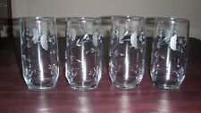 Princess House Heritage 12oz Glasses ~ Set of 4