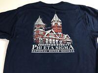 Auburn Tigers T-Shirt Adult Medium Fraternity Phi Eta Sigma Student Alumni Grad
