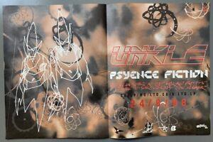 UNKLE 1998 original ADVERT PSYENCE FICTION James Lavelle DJ Shadow