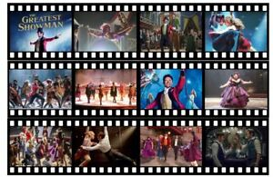 The Greatest Showman Edible Icing Film Strip Precut Ready to Use