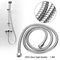 1.5m Shower Tube Hose Smooth Connector Water Head Shower Bathroom Pipe Hot Sale