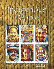 2010~ UN INDIGENOUS PEOPLE ~ 3 Sheets NH (NY-GEN-VIE)