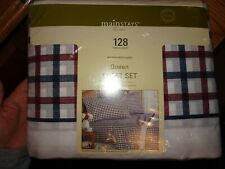 New Sealed Mainstays 128 Thread-Count Sheet Set, Queen