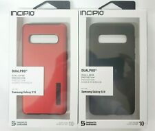 Incipio DualPro Dual-Layer Protective Case For Samsung Galaxy S10 Only! Black