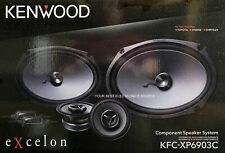 "NEW Kenwood KFC-XP6903C 6x9 Shallow Woofer & 3.5"" Midrange - Component Speakers"