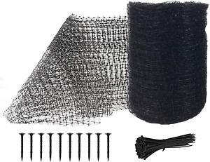 Feitore Deer Fence Netting, 7 x 100 Feet Bird Netting Anti Bird Deer Protection
